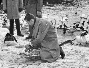 001-Sten-'SOE'-Ridderlof-marker-på-lunchrasten-Strombron-Stockholmstidningen-1962